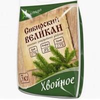 Удобрение Сибирский Великан Хвойное, 1 кг