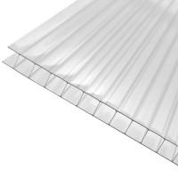 Сотовый поликарбонат 6х2,1 м, 3,5 мм, прозрачный